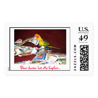 Dear Santa Postage Stamps