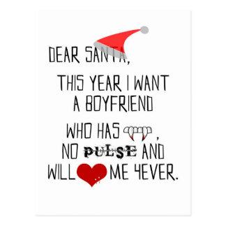 Dear Santa... - postcardtr Postcard