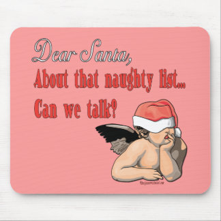 Dear Santa Series Mouse Pad