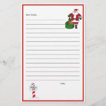 Dear Santa Stationary! Template