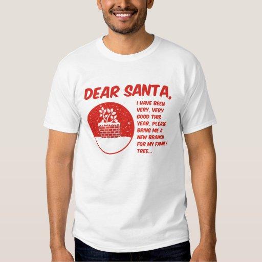Dear Santa Tee Shirt