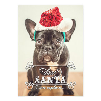 Dear Santa We Can Explain Holidays Photo Cards