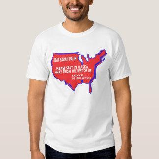 Dear Sarah Palin Tee Shirt