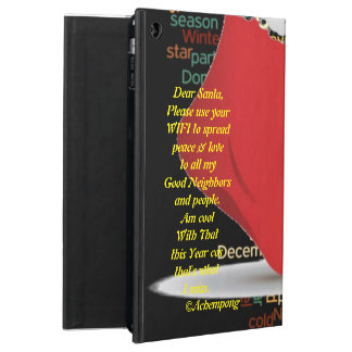 Dear Special Santa Prayer iPad Case