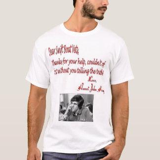 Dear Swift Boat Vets T-Shirt