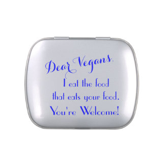 Dear Vegans Jelly Belly Tins