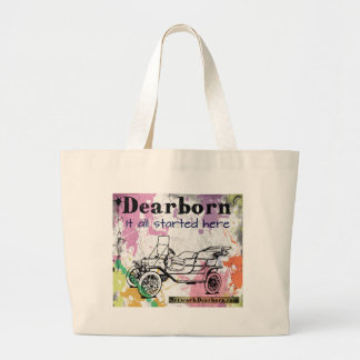 Dearborn - It All Started Here - tote bag