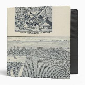 Deardorff and Centennial Vineyards, California Binders