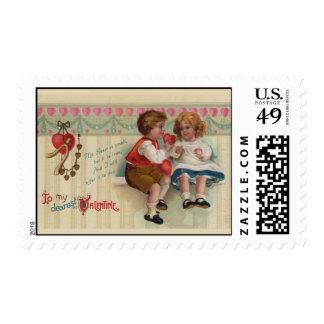 Dearest Valentine Postage Stamp