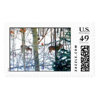 Dearie Deer Actual Stamps* Postage Stamp