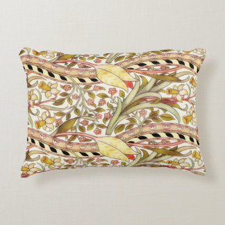 Dearle Daffodil Vintage Floral Accent Pillow