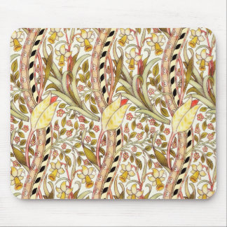 Dearle Daffodil Vintage Floral Mouse Pad