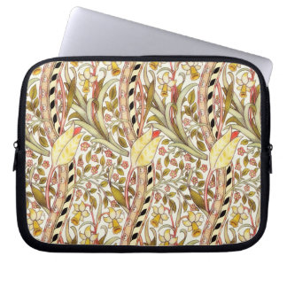 Dearle Daffodil Vintage Floral Pattern Computer Sleeve