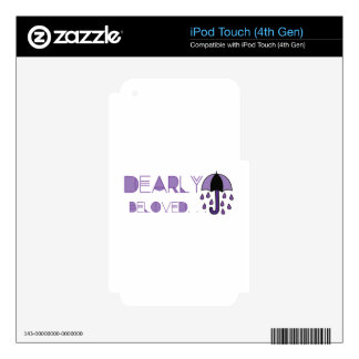 Dearly Beloved Decal For iPod Touch 4G