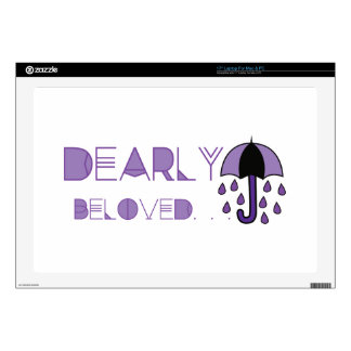 Dearly Beloved Decals For Laptops