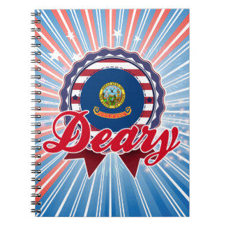 Deary, ID Spiral Notebooks