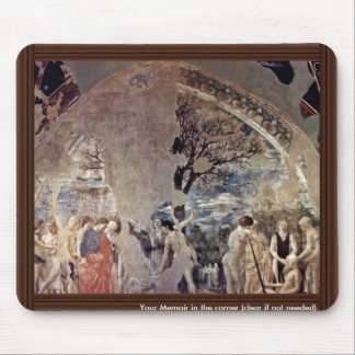 Death And Burial Of Adam., By Piero Della Frances Mouse Pad