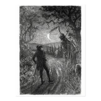 Death and Dr. Hornbook postcard