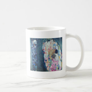 Death and Life, c.1911 (oil on canvas) Classic White Coffee Mug