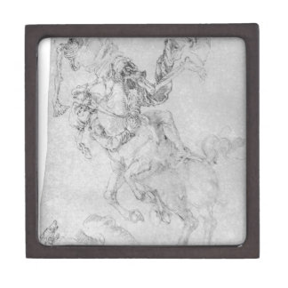 Death and rider by Albrecht Durer Gift Box