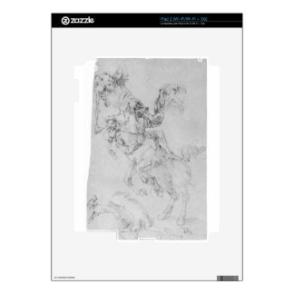 Death and rider by Albrecht Durer Decals For The iPad 2
