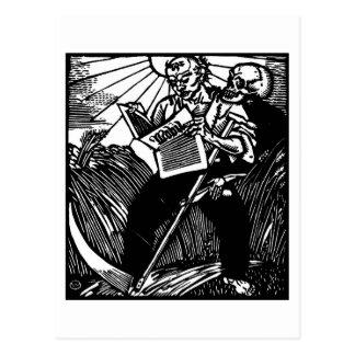 Death and the Farmer postcard