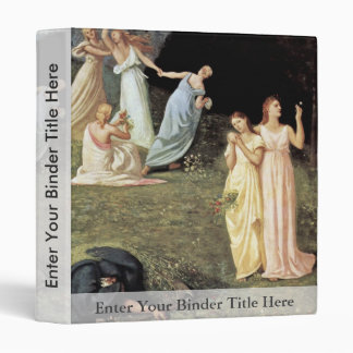 Death And The Girls By Puvis De Chavannes Pierre-C Binders
