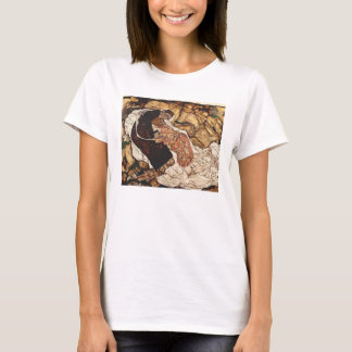 Death And The Maiden by Egon Schiele T-Shirt