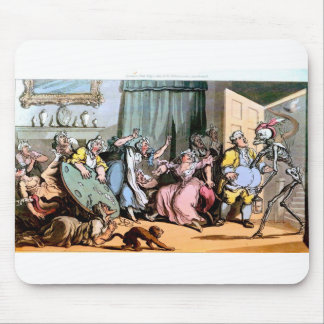 Death and the Old Maids mouse pad