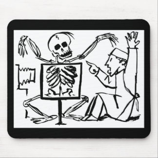 Death and the X-ray Doctor circa 1951 Mouse Pad