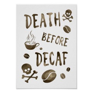 death before decaf bokeh poster