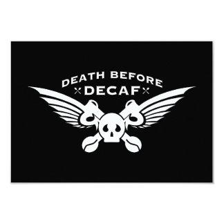 death before decaf card