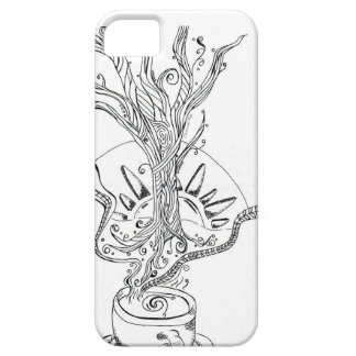 Death before Decaf iPhone SE/5/5s Case
