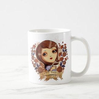 Death before Decaf Classic White Coffee Mug