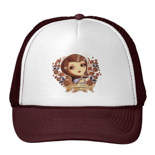Death before Decaf Trucker Hat