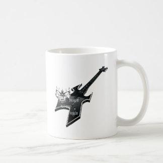 Death Before disco Classic White Coffee Mug