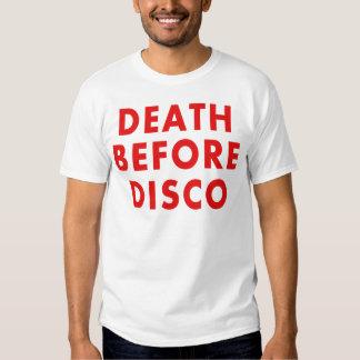Death Before Disco Tee Shirt