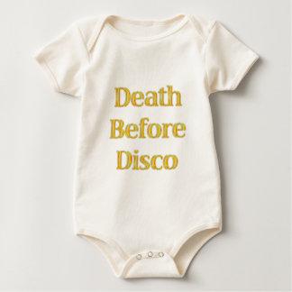 Death-Before-Disco-(white) Romper