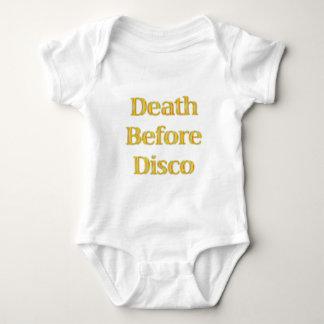 Death-Before-Disco-(white) Shirt