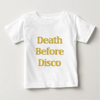 Death-Before-Disco-(white) T-shirts