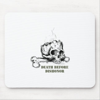 DEATH BEFORE DISHONOR MOUSE PADS