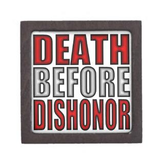 Death before dishonor premium jewelry box
