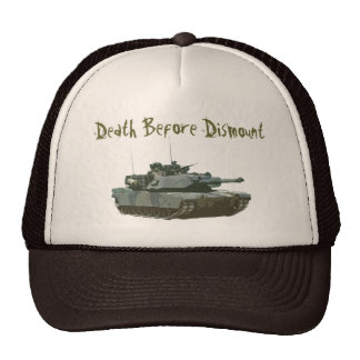 Death before Dismount Mesh Hat