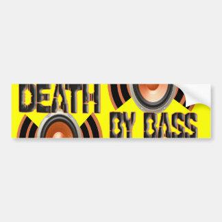 DEATH by BASS Bumper Sticker