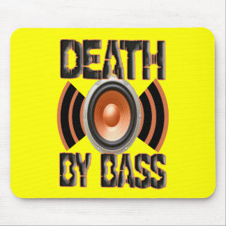 DEATH by BASS Mouse Pad