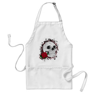 Death By Beauty Design Adult Apron