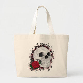 Death By Beauty Design Large Tote Bag