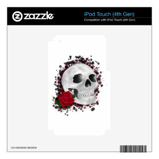 Death By Beauty Design Skin For iPod Touch 4G