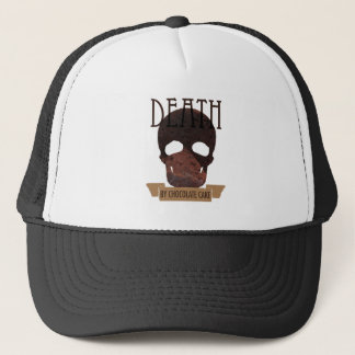 Death by Chocolate cake Trucker Hat