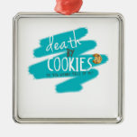 Death by Cookies II Christmas Ornament